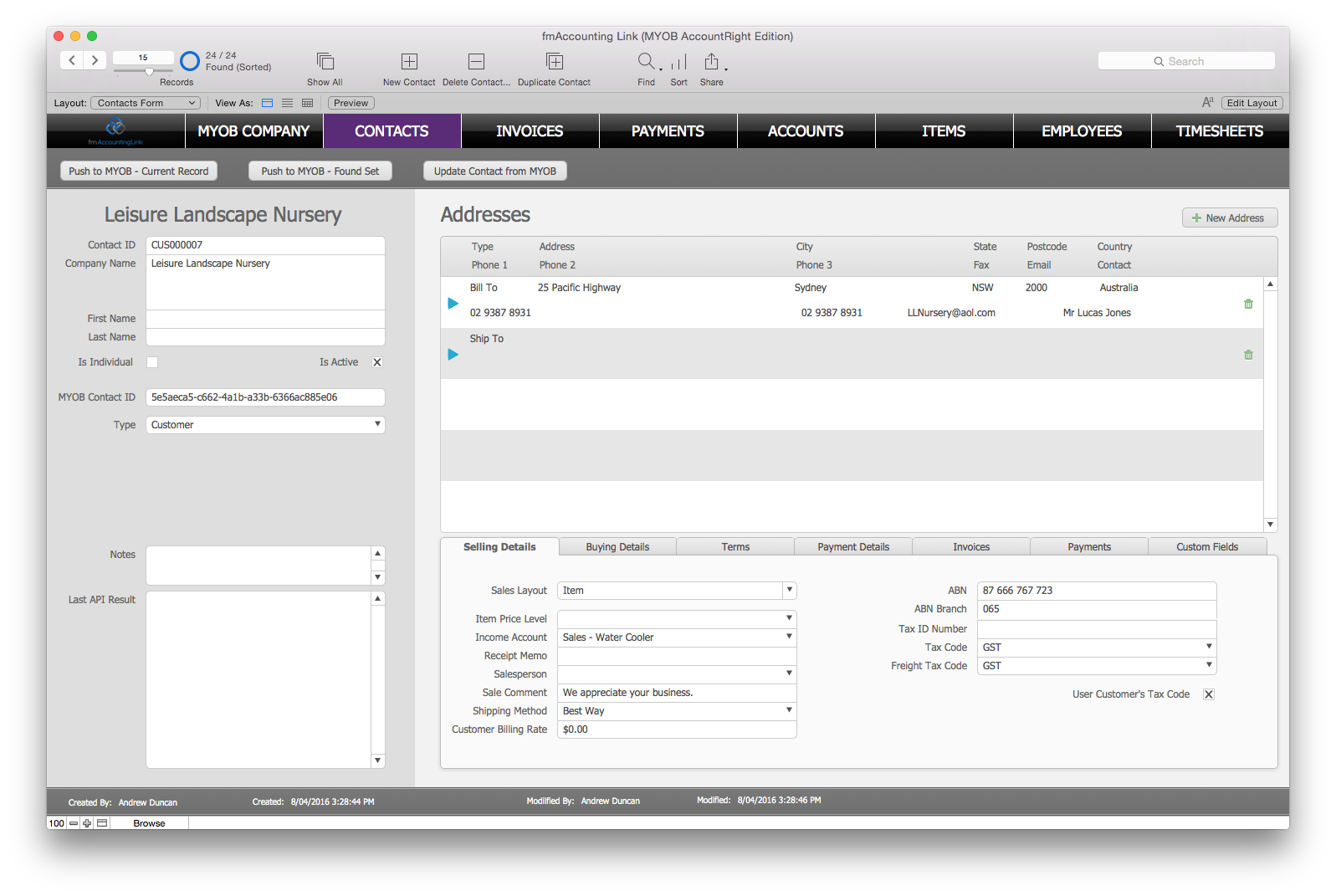 how to get myob accountright to work on mac